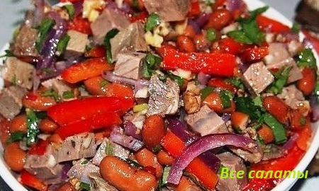 Тбилиси салат рецепт