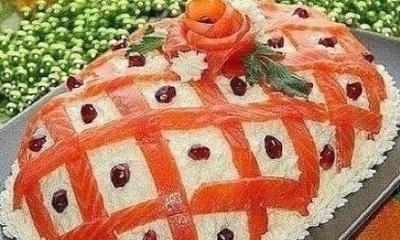 Фото салаты к дню рождения новинки